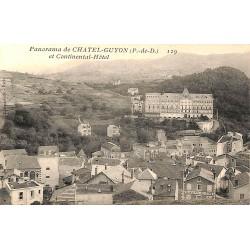 63 - Puy-de-Dôme [63] Châtelguyon - Panorama de Châtelguyon et Continantal-Hôtel.