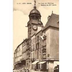 63 - Puy-de-Dôme [63] Châtelguyon - Riom - La Tour d'Horloge.