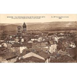 43 - Haute Loire [43] Brioude - Vue méridionale prise de St-Laurent.