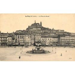 43 - Haute Loire [43] Le Puy-en-Velay - La Place du Breuil.
