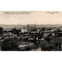 43 - Haute Loire [43] Brioude - Vue générale occidentale. Eglise St-Julien, curiosité principale de la Ville.