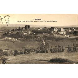 ABAO 15 - Cantal [15] Saint-Flour - Vue prise du Calvaire.