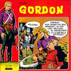 ABAO Bandes dessinées Flash Gordon (Remparts) 03