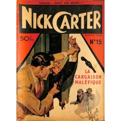 ABAO Journaux et périodiques Nick Carter (Nouvelle série) n°15