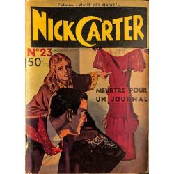 ABAO Journaux et périodiques Nick Carter (Nouvelle série) n°23