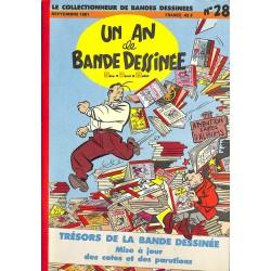 Bandes dessinées Le Collectionneur de Bandes Dessinées 1981/09 n°28
