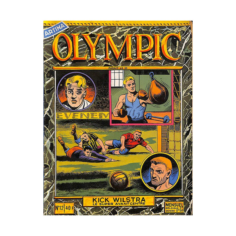 ABAO Bandes dessinées Olympic 12