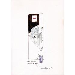 """ABAO Originaux Arnoux (Erik) - Dessin original représentant """"Timon des blés"""""""