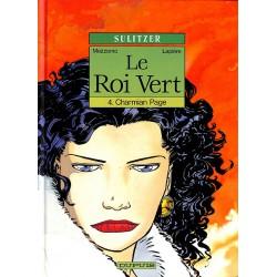 Bandes dessinées Le Roi vert 04 + Dédicace Mezzomo et Sulitzer.