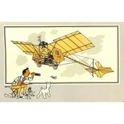 ABAO Bandes dessinées [Hergé] Tintin - Voir et Savoir : Aviation, collection B série 1 chromo n°05