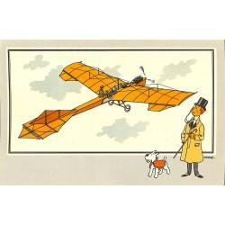 ABAO Bandes dessinées [Hergé] Tintin - Voir et Savoir : Aviation, collection B série 1 chromo n°03