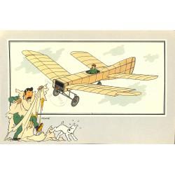 ABAO Bandes dessinées [Hergé] Tintin - Voir et Savoir : Aviation, album 1, série 5 chromo n°19
