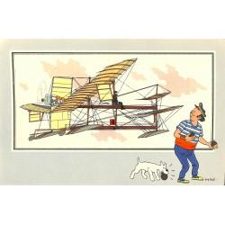 ABAO Bandes dessinées [Hergé] Tintin - Voir et Savoir : Aviation, album 1, série 5 chromo n°36