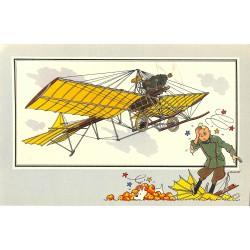 ABAO Bandes dessinées [Hergé] Tintin - Voir et Savoir : Aviation, album 1, série 6 chromo n°40