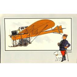 ABAO Bandes dessinées [Hergé] Tintin - Voir et Savoir : Aviation, album 1, série 4 chromo n°46