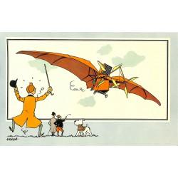 ABAO Bandes dessinées [Hergé] Tintin - Voir et Savoir : Aviation, album 1, série 1 chromo n°10