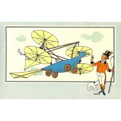 ABAO Bandes dessinées [Hergé] Tintin - Voir et Savoir : Aviation, album 1, série 1 chromo n°01