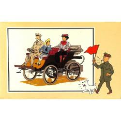 ABAO Bandes dessinées [Hergé] Tintin - Voir et Savoir : Automobile origines à 1900, série 2 chromo n°47