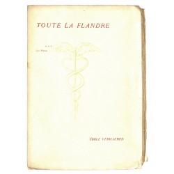 ABAO Poésie Verhaeren (Emile) - Toute la Flandre. III