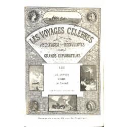 ABAO 1800-1899 Les Voyages célèbres. Aventures et Découvertes. Grands explorateurs. Asie.