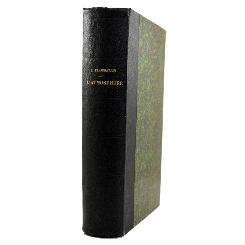 ABAO 1800-1899 Flammarion (Camille) - L'Atmosphère.