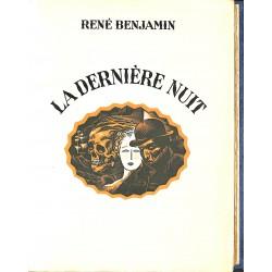 ABAO Littérature Benjamin (René) - La Dernière nuit.