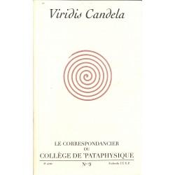 ABAO Pataphysique Le Correspondancier du Collège de Pataphysique n°09