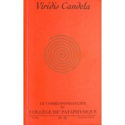 Pataphysique Le Correspondancier du Collège de Pataphysique n°15