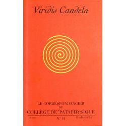 ABAO Pataphysique Le Correspondancier du Collège de Pataphysique n°14