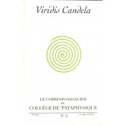 Pataphysique Le Correspondancier du Collège de Pataphysique n°02