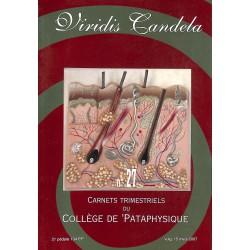 Pataphysique Carnets du Collège de Pataphysique n°27