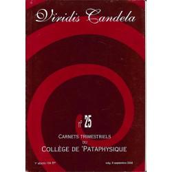 ABAO Pataphysique Carnets du Collège de Pataphysique n°25