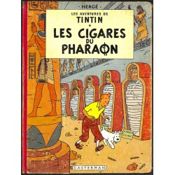 ABAO Bandes dessinées Tintin 04 B15 EO coul. b.