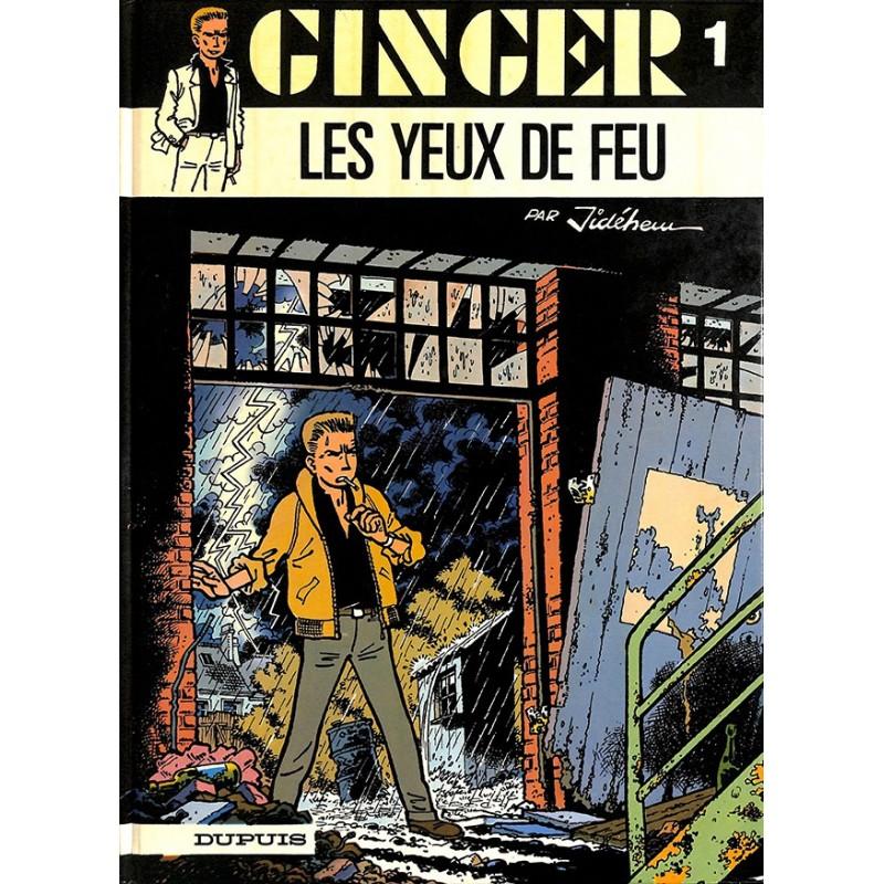 ABAO Bandes dessinées Ginger (Dupuis) 01