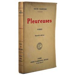 Grands papiers Barbusse (Henri) - Pleureuses. EO.