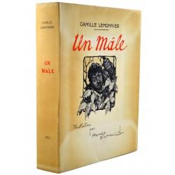 Grands papiers Lemonnier (Camille) - Un Mâle. Illustrations par Roméo Dumoulin.