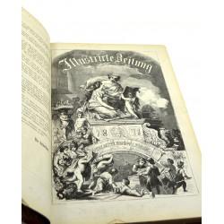 Journaux et périodiques Illustrite Zeitung. Recueil 1871. (1)