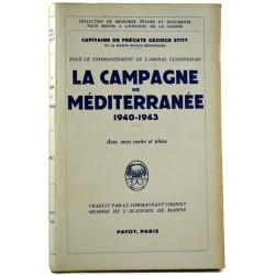 ABAO 1900- [1940-1945] Sitt (George) - La Campagne de Méditerranée.