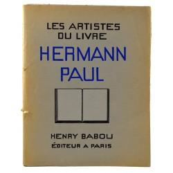 ABAO 1900- Les Artistes du livre : Hermann Paul.