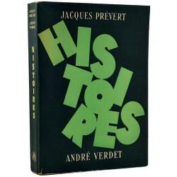 Grands papiers Prévert (Jacques) & Verdet (André) - Histoires. EO n°/350 ex.
