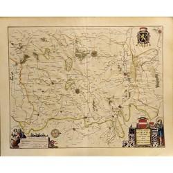 ABAO Cartographie [Belgique - Brabant] Blaeu (Willem & Johannes) - Leuven. Prima Pars Brabantiae cuius caput Lovanium. 1645.