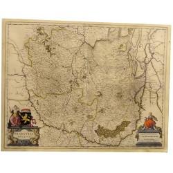 ABAO Cartographie [Pays-Bas - Amsterdam] Blaeu (Johannes) - Milliaria Germanica. Amsterdami. 1645.