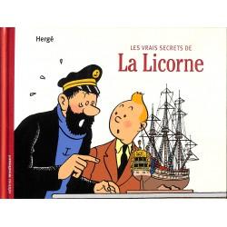 ABAO Bandes dessinées Tintin - Les vrais secrets de La Licorne
