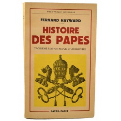 ABAO Editions Payot Hayward (Fernand) - Histoire des papes.