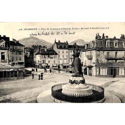 ABAO 73 - Savoie [73] Chambéry - Place du Centenaire et Pont du Reclus.