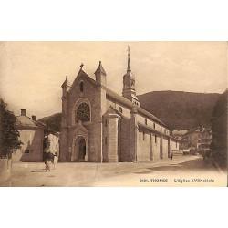 74 - Haute Savoie [74] Thones - L'Eglise XVIIe siècle.