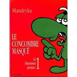 Bandes dessinées Le Concombre masqué (Dupuis-série 1) 01