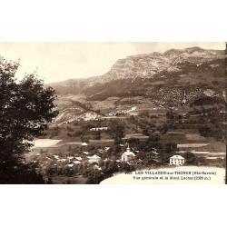 ABAO 74 - Haute Savoie [74] Les Villards-sur-Thônes - Vue générale et le Mont Lachat.