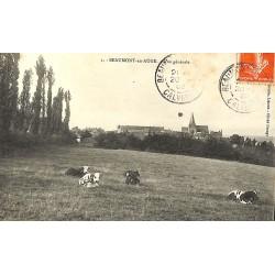 ABAO 14 - Calvados [14] Beaumont-en-Auge - Vue générale.