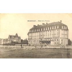ABAO 14 - Calvados [14] Deauville - Hôtel de la Terrasse.